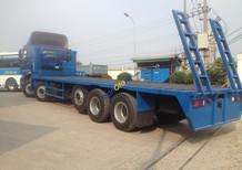 Xe tải nâng đầu, chở máy công trình 5 chân Auman C34