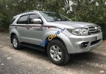 Bán xe cũ Toyota Fortuner 2.5G sản xuất 2010, màu bạc xe gia đình, giá 688tr