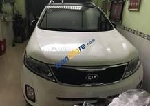 Bán xe Kia Sorento AT năm 2015, màu trắng, xe sử dụng số tự động, đã đi 25000 km