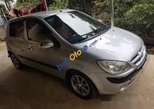 Bán ô tô Hyundai Click MT đời 2008, màu bạc