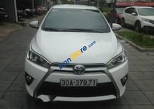 Bán Toyota Yaris 1.3G đời 2014 màu trắng, nhập khẩu từ Thái Lan