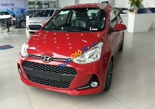 Cần bán xe Hyundai Grand i10 đời 2017, màu đỏ, 425tr