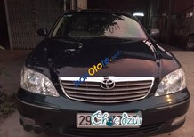 Bán gấp Toyota Camry 2.4L G năm 2002, màu đen chính chủ, giá 330tr
