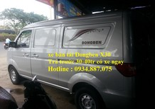 Bán xe tải van Dongben X30 490kg 5 chỗ ngồi đi vào thành phố, giờ cấm tải