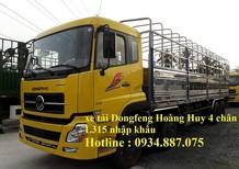 Bán xe tải Dongfeng Hoàng Huy 4 chân 17.9 tấn 18 tấn hỗ trợ trả góp toàn quốc