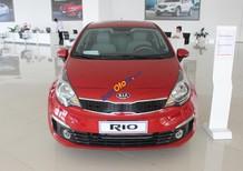 Bán ô tô Kia Rio 4DR AT 2017, màu đỏ, giá 523tr, hỗ trợ trả góp 90%. Hotline: Tâm 0938.805.635