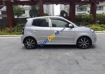 Cần bán gấp Kia Morning AT sản xuất năm 2011, màu bạc, xe nhập, giá 278tr