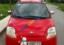 Bán ô tô Chevrolet Spark MT đời 2009, màu đỏ