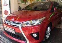 Bán Toyota Yaris G đời 2015, màu đỏ, nhập khẩu nguyên chiếc