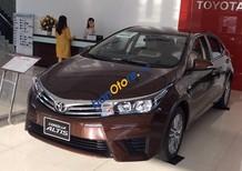 Bán Toyota Corolla altis 1.8 CVT năm 2017, màu nâu, 707 triệu