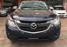 Cần bán lại xe Mazda BT 50 2.2L 4x2AT đời 2016, màu xanh lam, số tự động