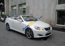 Cần bán gấp Lexus IS 250C sản xuất năm 2009, màu trắng, xe nhập