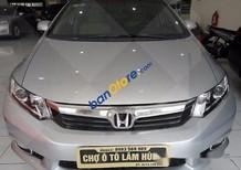 Bán Honda Civic AT đời 2013, màu bạc số tự động