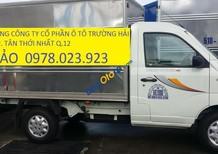 Xe tải Thaco Towner tải 990kg, động cơ phun xăng của Suzuki, bảo hành 2 năm