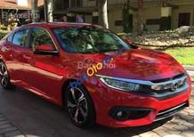 Bán xe Honda Civic năm sản xuất 2017, màu đỏ, xe nhập