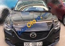 Bán ô tô Mazda 6 AT đời 2016, màu đen