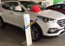 Cần bán xe Hyundai Santa Fe đời 2016, màu trắng