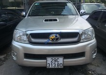 Bán ô tô Toyota Hilux năm 2009 màu bạc, giá tốt, xe nhập