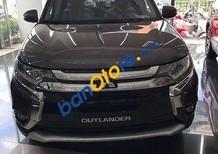 Bán Mitsubishi Outlander 2.0CVT sản xuất năm 2017, màu nâu, giao xe tận nơi