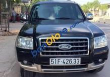 Cần bán gấp Ford Everest đời 2008, màu đen, giá 340tr