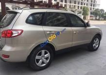 Cần bán Hyundai Santa Fe 2.2 AT đời 2008, màu vàng