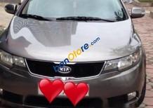 Cần bán lại xe Kia Cerato năm sản xuất 2010, màu xám xe gia đình