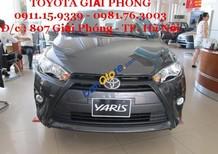 Cần bán Toyota Yaris E đời, màu xám (ghi), xe nhập nguyên chiếc hỗ trợ trả góp 90% giao xe ngay