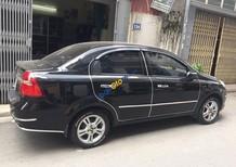 Bán xe Chevrolet Aveo chính chủ đời 2017, màu đen đã đi 6000km