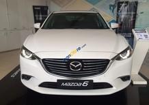 Bán Mazda 6 2.0L facelift sản xuất năm 2018, màu trắng, trả góp 85%, hỗ trợ chứng minh tài chính - LH: 0946383636