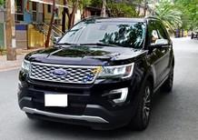 Bán xe Ford Explorer năm sản xuất 2016, màu đen, nhập khẩu