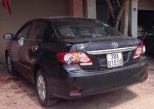 Cần bán Toyota Corolla Altis sản xuất 2012, xe đẹp