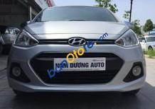 Bán ô tô Hyundai Grand i10 1.2 MT 2015, màu bạc, giá tốt