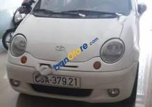 Cần bán lại xe Daewoo Matiz đời 2003, màu trắng số sàn