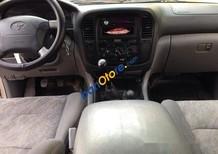 Bán Toyota Land Cruiser đời 2001, màu vàng số sàn
