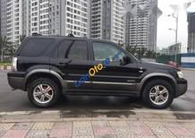 Cần bán Ford Escape XLT AT sản xuất 2005, màu đen, xe nhập