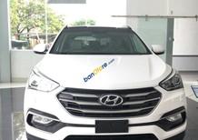 Cần bán xe Hyundai Santa Fe năm 2018- máy xăng, 1 cầu, màu trắng, mới 100%, giá 898 triệu- LH: 0919293562