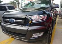 [837tr chưa giảm] Bán xe Ford Ranger Wildtrak 2.2 4x2 AT đời 2017, màu đen siêu hiếm