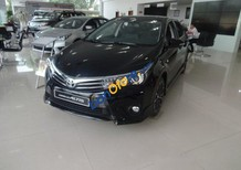 Cần bán Toyota Corolla altis 2.0 CVT đời 2017, màu đen, giá 933tr