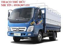 Bán xe tải nhẹ máy dầu chạy trong thành phố Ollin345 tải trọng 2400kg 2,4 tấn