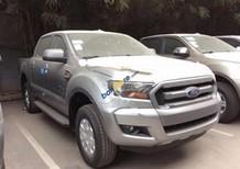 Bán Ford Ranger XLS 4x2MT đời 2017, màu bạc, nhập khẩu chính hãng