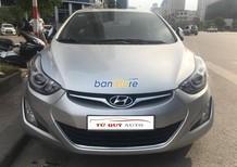 Cần bán Hyundai Elantra GLS 1.8AT đời 2014, màu bạc, xe nhập