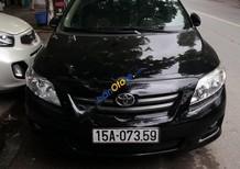 Bán Toyota Corolla Altis MT sản xuất 2011, màu đen số sàn giá cạnh tranh