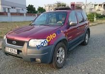 Cần bán gấp Ford Escape 3.0 sản xuất 2002, màu đỏ, giá chỉ 190 triệu