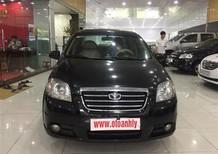 Cần bán Daewoo Gentra đời 2010, màu đen, số sàn, giá tốt