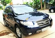 Cần bán xe Hyundai Santa Fe 2.2AT CRDi 4WD sản xuất 2007, màu đen, nhập khẩu nguyên chiếc giá cạnh tranh