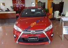 Cần bán xe Toyota Yaris G đời 2017, màu đỏ, xe nhập