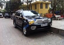 Bán Toyota Fortuner AT đời 2009, màu đen số tự động