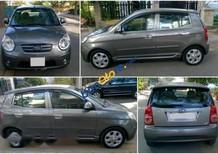 Cần bán lại xe Kia Morning năm 2010, màu xám