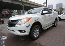 Bán Mazda BT 50 2.2AT năm sản xuất 2015, màu trắng, nhập khẩu nguyên chiếc còn mới, 569 triệu