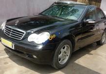 Cần bán lại xe Mercedes C200 sản xuất 2002, màu đen số tự động